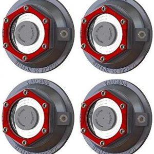Valcrum HD Aluminum Trailer Oil Hub Cap for 8k Axles - ST2875 (Pack of 4)